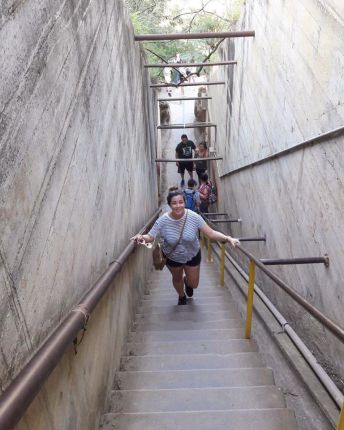 Stairs at Diamond Head